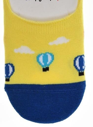 Pixter&Bro Pixter&Bro Tekli Çorap Sarı